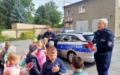Przedszkolaki z wizytą w komendzie policji